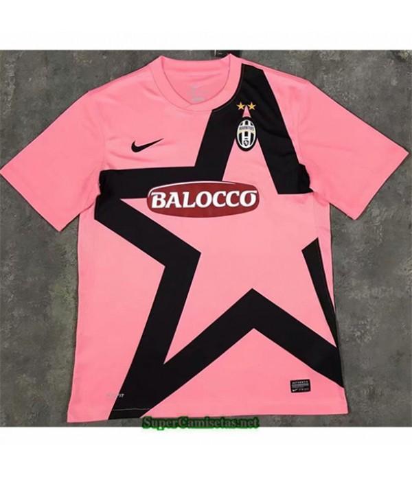 Tailandia Camisetas Clasicas Juventus Rose Hombre 2011 2012