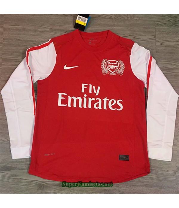 Tailandia Camisetas Clasicas Primera Arsenal Hombre Edición 125 Aniversario 2011 12