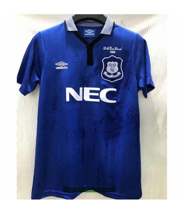 Tailandia Camisetas Clasicas Primera Everton Hombre 1994 95