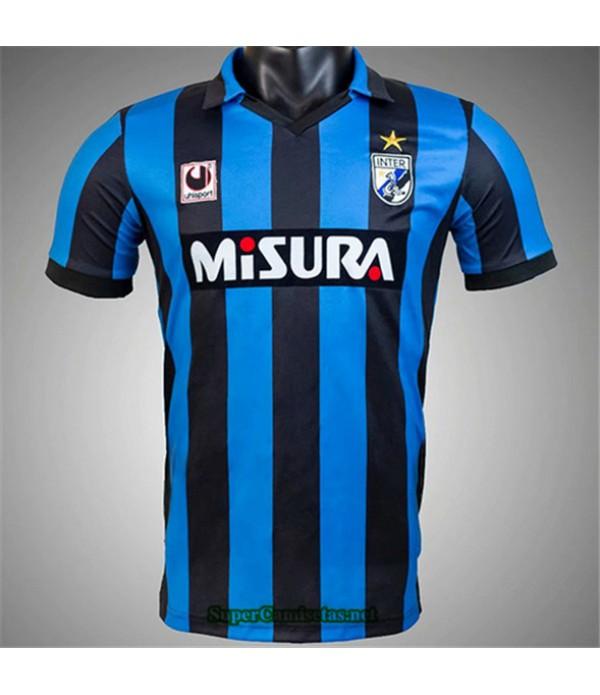 Tailandia Camisetas Clasicas Primera Inter Milan Hombre 1988 90