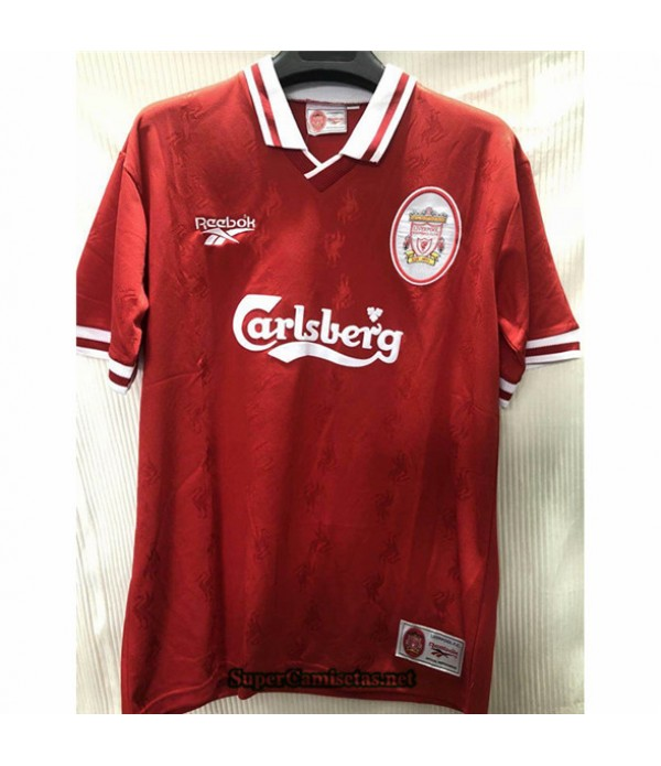 Tailandia Camisetas Clasicas Primera Liverpool Hombre 1996 97
