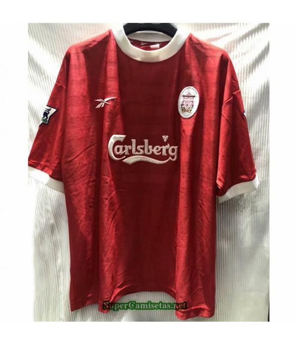 Tailandia Camisetas Clasicas Primera Liverpool Hombre 1998