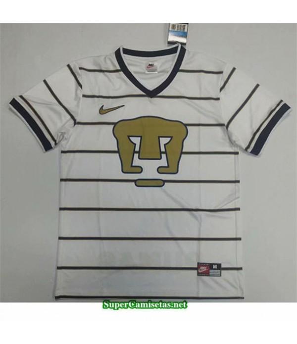 Tailandia Camisetas Clasicas Pumas Blanco Hombre 1997