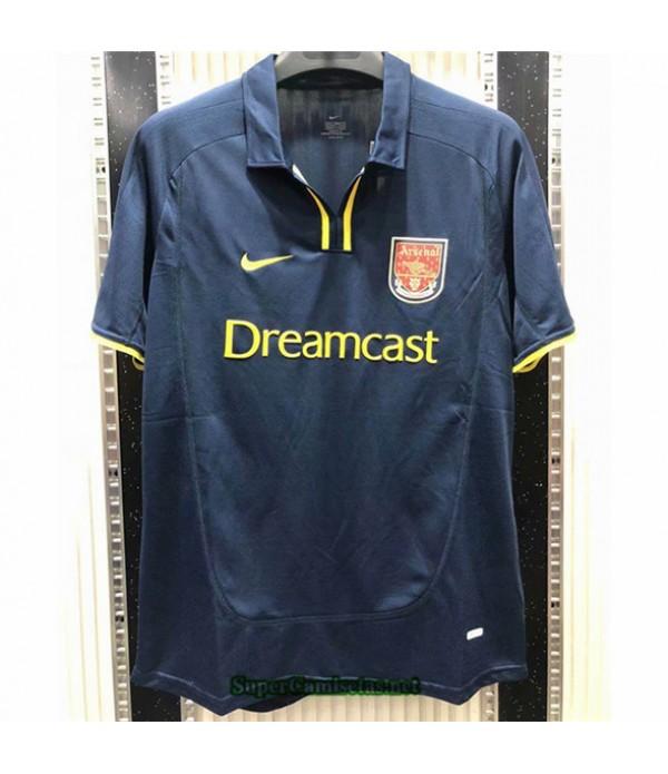 Tailandia Camisetas Clasicas Segunda Arsenal Hombre 2000