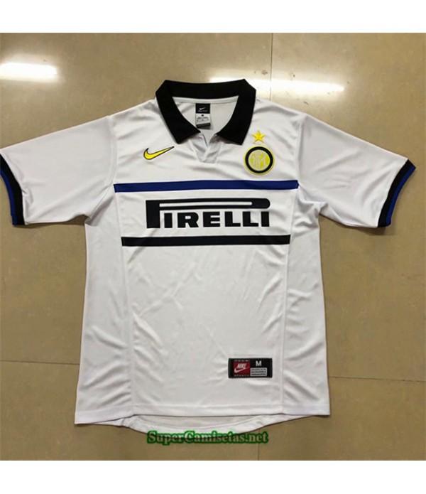 Tailandia Camisetas Clasicas Segunda Inter Milan Hombre 1998 99