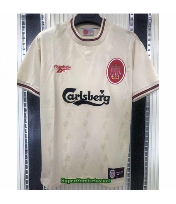 Tailandia Camisetas Clasicas Segunda Liverpool Hombre 1996 97