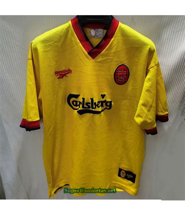 Tailandia Camisetas Clasicas Segunda Liverpool Hombre 1998