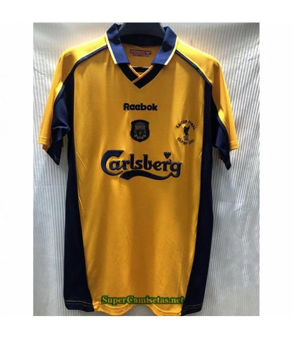 Tailandia Camisetas Clasicas Segunda Liverpool Hombre 2000 01