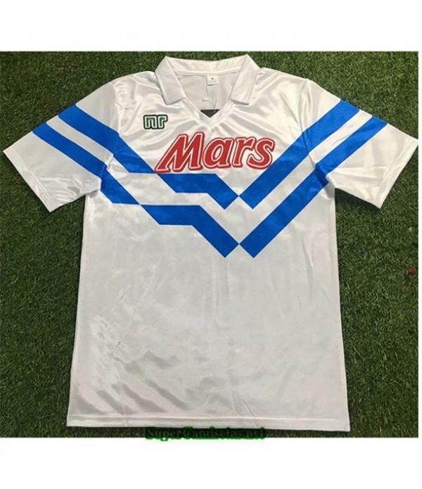 Tailandia Camisetas Clasicas Segunda Naples Hombre 1988 89