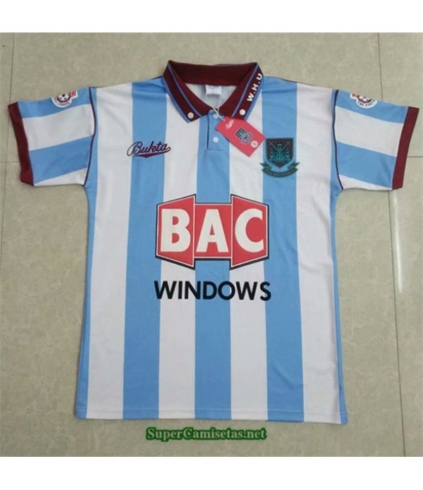 Tailandia Camisetas Clasicas Segunda West Ham United Hombre 1991 92