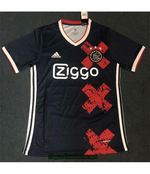Tailandia Equipacion Camiseta Ajax Negro 2020