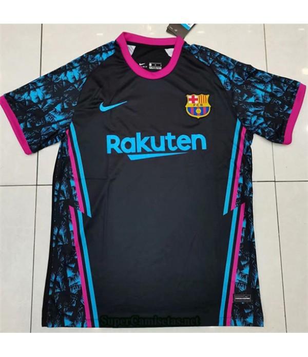 Tailandia Equipacion Camiseta Barcelona Negro 2020