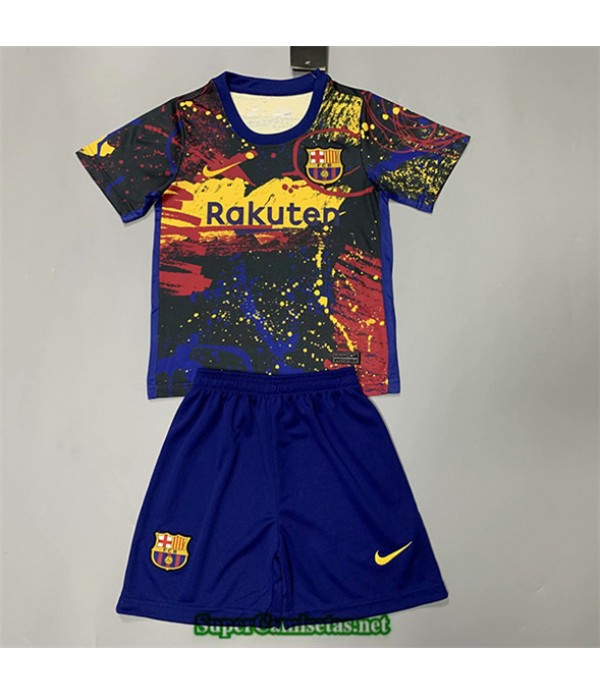 Tailandia Equipacion Camiseta Barcelona Niños Pre...