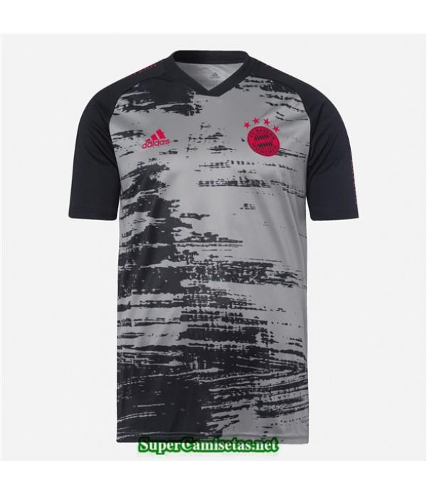 Tailandia Equipacion Camiseta Bayern Munich Pre Ma...