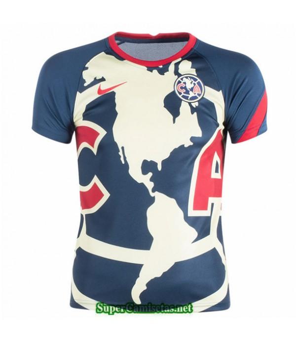 Tailandia Equipacion Camiseta Cf América Pre Match Training 2020