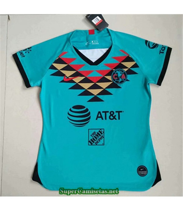Tailandia Equipacion Camiseta Cf American Femme Verde 2020