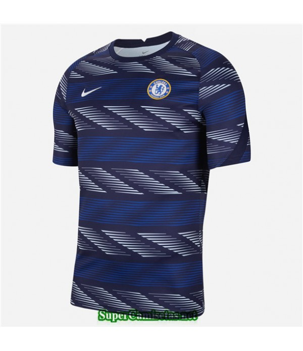 Tailandia Equipacion Camiseta Chelsea Pre Match 20...
