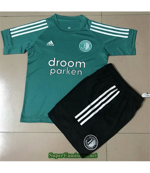 Tailandia Equipacion Camiseta Feyenoord Entrenamiento Niños 2020