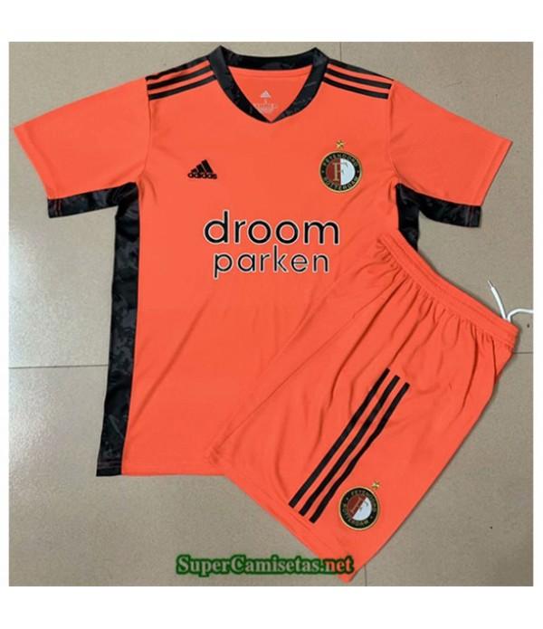 Tailandia Equipacion Camiseta Feyenoord Niños Portero 2020