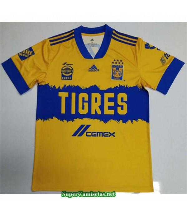 Tailandia Equipacion Camiseta Tigres Amarillo 2020