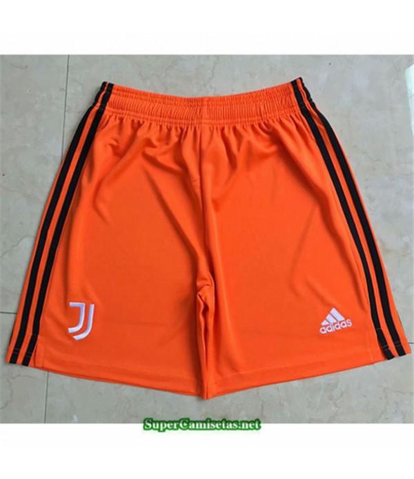 Tailandia Naranja Equipacion Camiseta Juventus Pantalones 2020/21