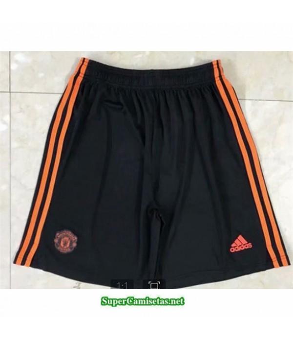 Tailandia Naranja Equipacion Camiseta Manchester United Pantalones 2020/21