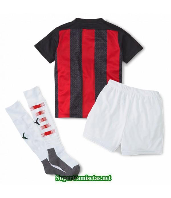 Tailandia Primera Equipacion Camiseta Ac Milan Niños 2020