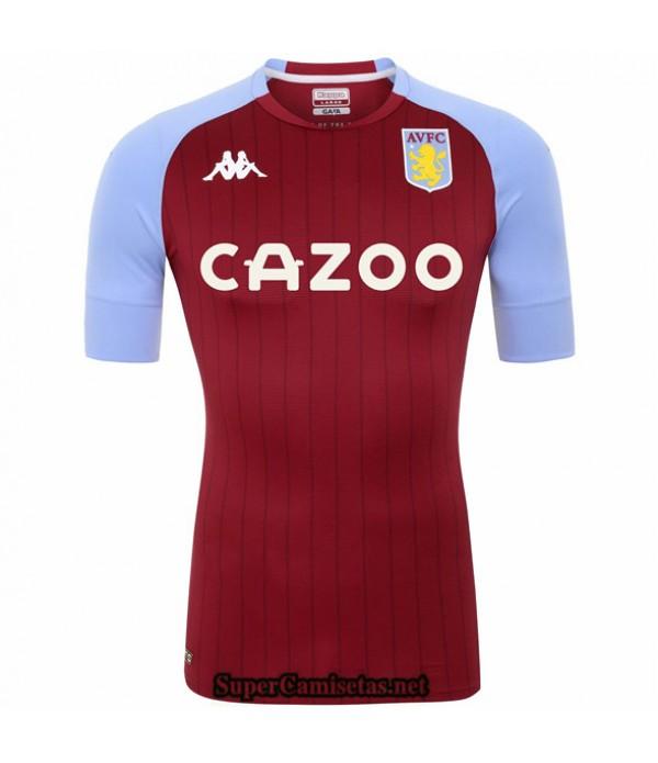 Tailandia Primera Equipacion Camiseta Aston Villa 2020