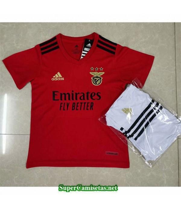 Tailandia Primera Equipacion Camiseta Benfica Niños 2020