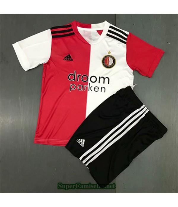 Tailandia Primera Equipacion Camiseta Feyenoord Niños 2020