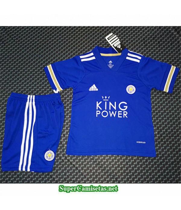 Tailandia Primera Equipacion Camiseta Leicester City Niños 2020