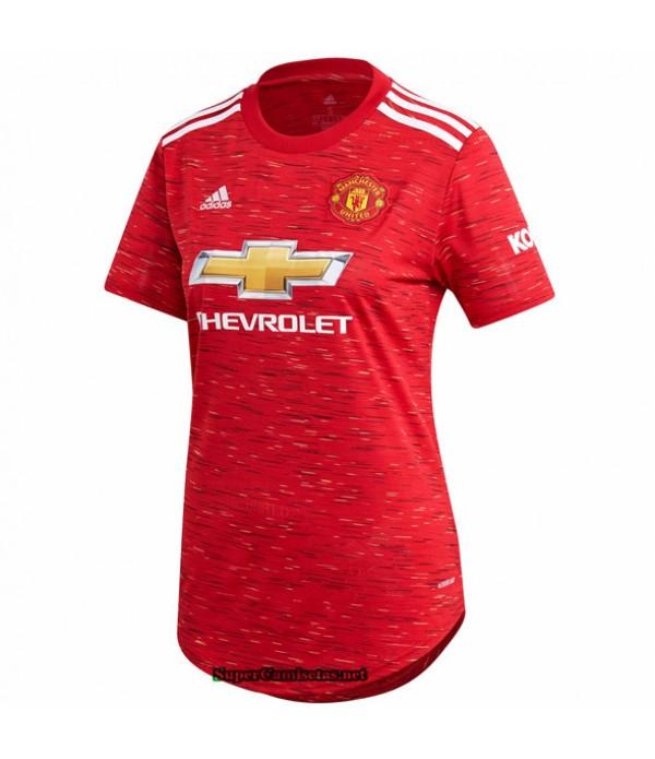 Tailandia Primera Equipacion Camiseta Manchester United Mujer 2020