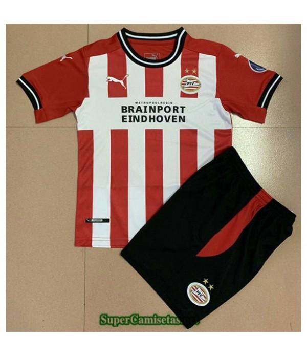 Tailandia Primera Equipacion Camiseta Psv Eindhoven Niños 2020