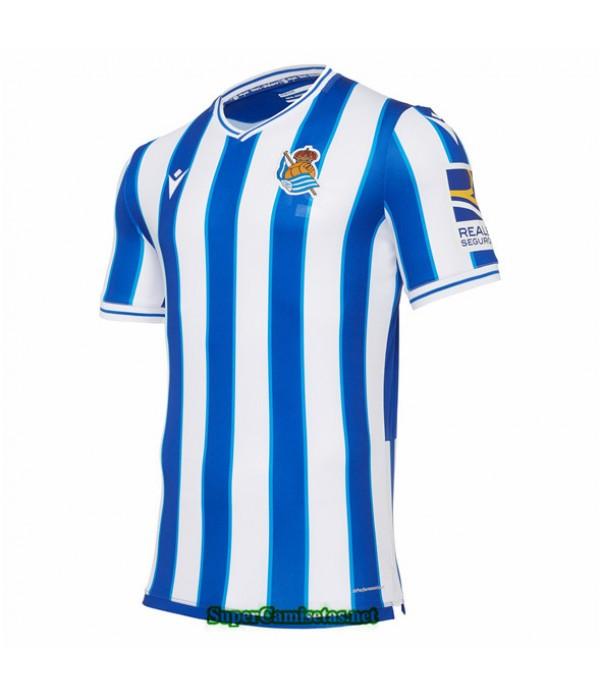 Tailandia Primera Equipacion Camiseta Real Sociedad 2020