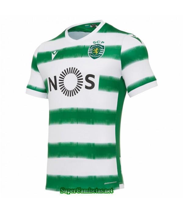 Tailandia Primera Equipacion Camiseta Sporting Lisbon 2020