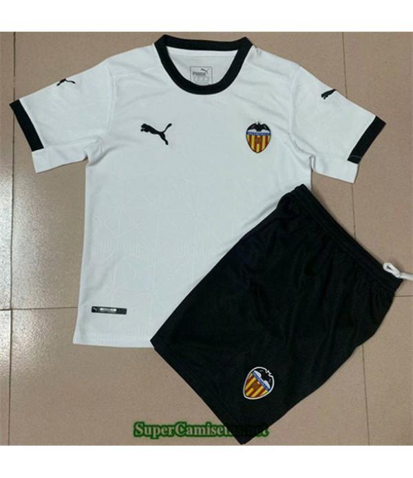 Tailandia Primera Equipacion Camiseta Valencia Niños 2020