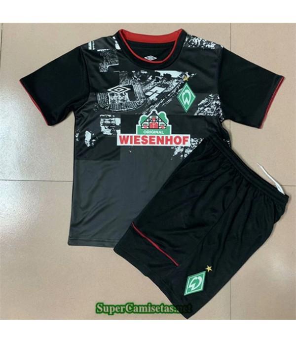 Tailandia Primera Equipacion Camiseta Werder Brême Niños 2020