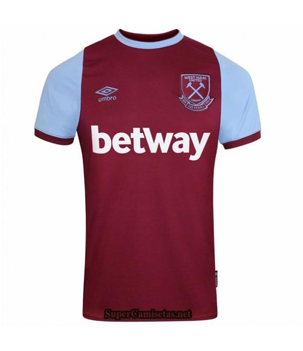 Tailandia Primera Equipacion Camiseta West Ham United 125 Aniversario 2020