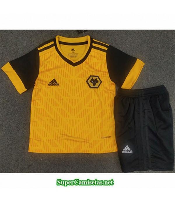Tailandia Primera Equipacion Camiseta Wolverhampton Niños 2020