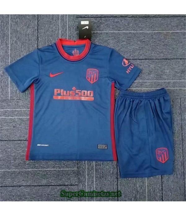 Tailandia Segunda Equipacion Camiseta Atletico De Madrid Niños 2020