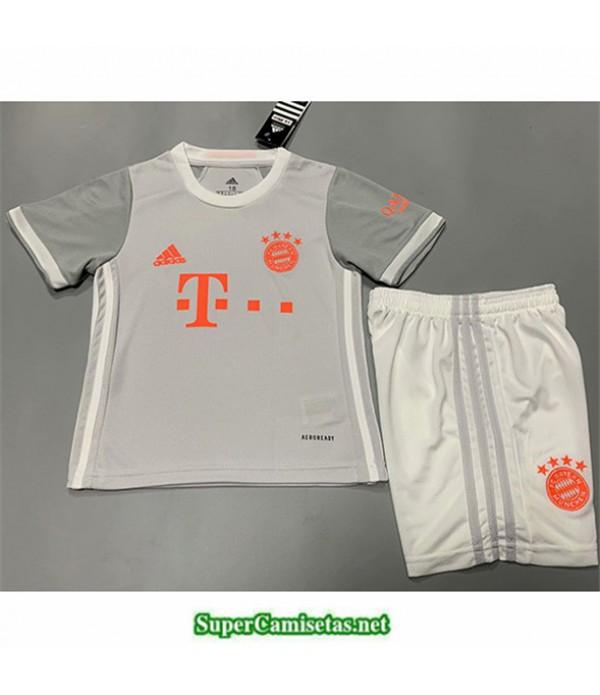 Tailandia Segunda Equipacion Camiseta Bayern Munich Niños 2020