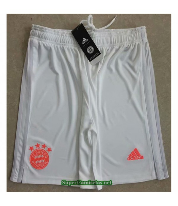 Tailandia Segunda Equipacion Camiseta Bayern Munich Pantalones 2020/21