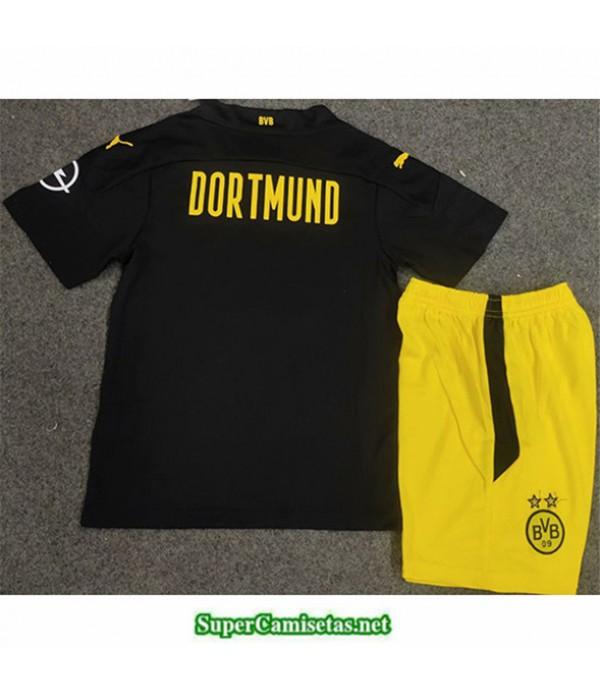 Tailandia Segunda Equipacion Camiseta Borussia Dortmund Niños 2020