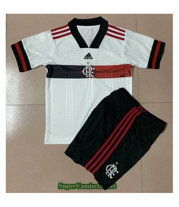 Tailandia Segunda Equipacion Camiseta Flamengo Niños 2020
