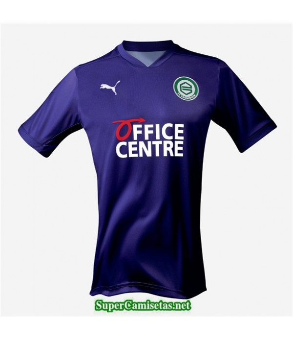 Tailandia Segunda Equipacion Camiseta Groningen Púrpura 2020