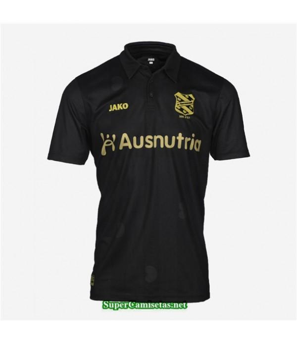 Tailandia Segunda Equipacion Camiseta Heerenveen Negro 2020