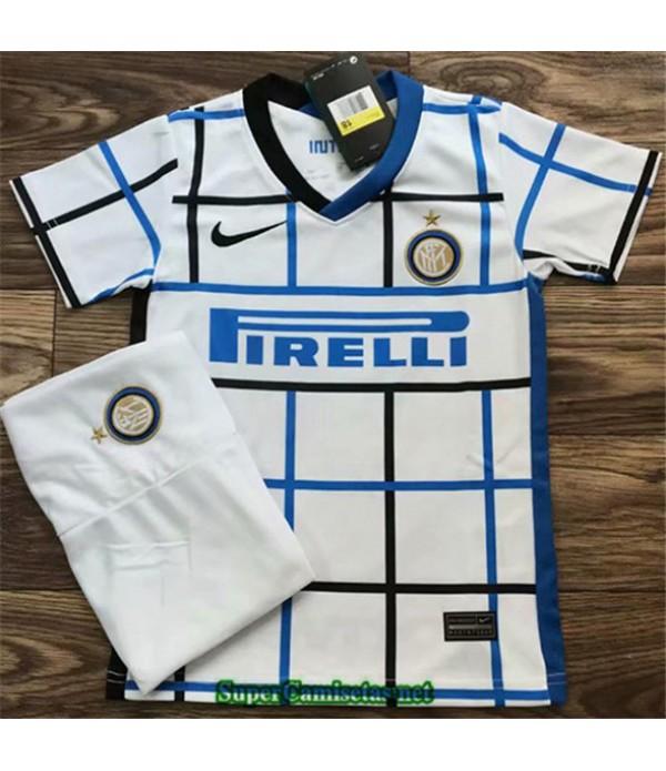 Tailandia Segunda Equipacion Camiseta Inter Milan Niños 2020