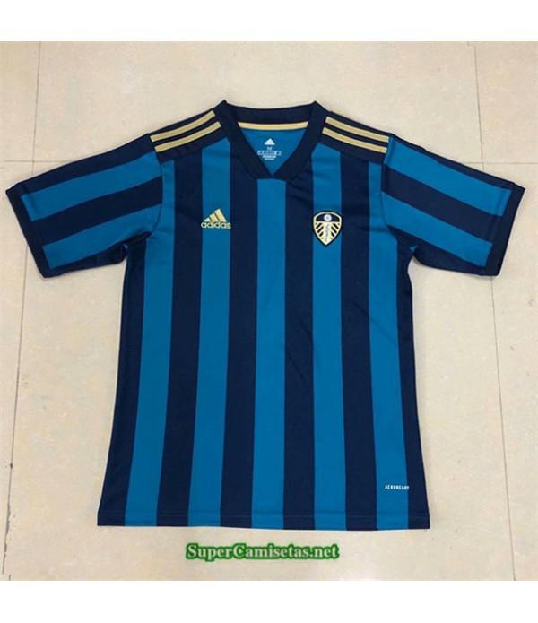Tailandia Segunda Equipacion Camiseta Leeds United Bleu 2020