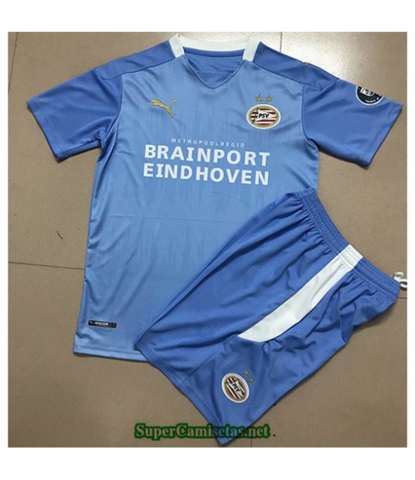 Tailandia Segunda Equipacion Camiseta Psv Eindhoven Niños 2020