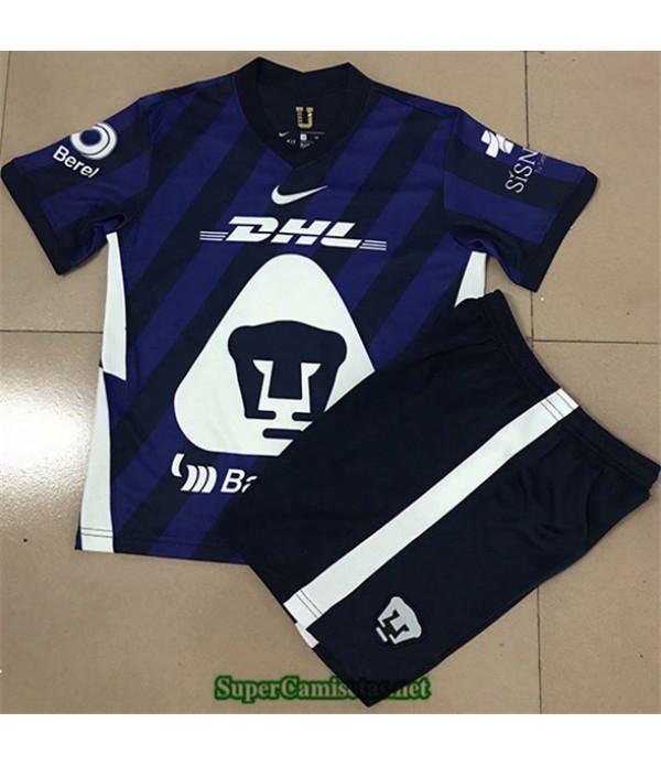 Tailandia Segunda Equipacion Camiseta Pumas Niños 2020